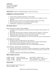 Example Of Executive Summary For Resume Resume Summary Of Qualifications Free Resume Example And Writing