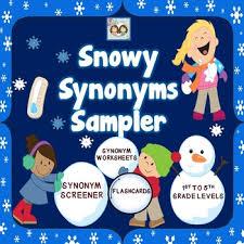 this freebie provides you with a wonderful synonym screener three