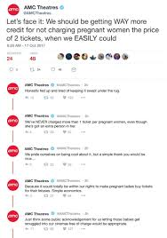 rant time amc theatres is tweeting about how it clickhole