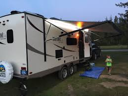 Awning For Travel Trailer How To Repair A Torn Camper Awning Camper Report