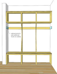 Ana White Free And Easy Diy Furniture Plans To Save You Money by Ana White Smiling Mudroom Diy Projects