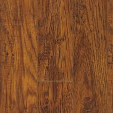 Distressed Laminate Flooring Home Depot Pergo Xp Highland Hickory 10 Mm Thick X 4 7 8 In Wide X 47 7 8 In
