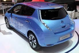 nissan leaf price uk new nissan leaf takes centre stage at geneva uk electric cars
