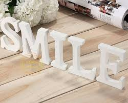Pure White Laminate Flooring - aliexpress com buy 10cm wedding artificial wood letters pure