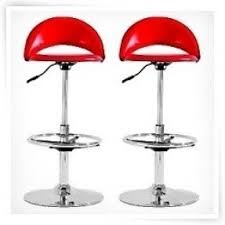 Chintaly Bar Stools Red Swivel Bar Stools Foter