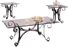 rooms to go coffee tables and end tables cooper metal 3 pc table set table sets metal