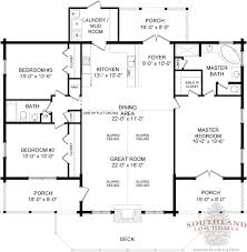 Log Cabin Homes Floor Plans Adair Southland Log Homes I Would Like To Mix Certain Elements