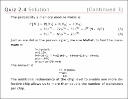 a what is the probability p c that a chip works b what is the