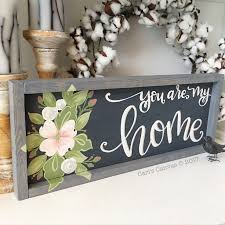 hand painted wood sign home decor farmhouse cari s canvas hand painted wood sign home decor farmhouse