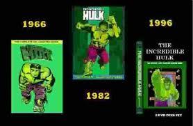 incredible hulk dvd 3 combo animated cartoon series sale
