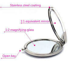 Cermin Dua Sisi jual dijual cermin make up kaca mini dua sisi murah di lapak cahaya