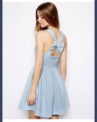 light blue skater skirt light blue dress girly bows skater skirt skater dress