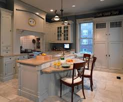 kitchen with stylish breakfast bar kitchen design decorating