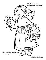 Easter Flower Coloring Pages - free easter coloring pages coloring easter pictures