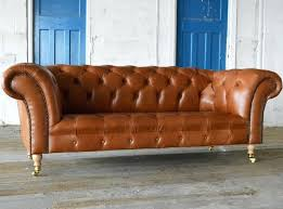Sofas Chesterfield Style Leather Chesterfield Sofas Baddgoddess
