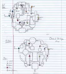 Map Note Digimon World 4 Dread Note Dungeon Map 1 2 By Jennameowth On