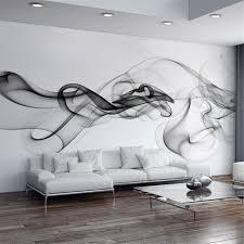 wandbild schlafzimmer rauch nebel fototapete moderne wandbild 3d ansicht tapete designer