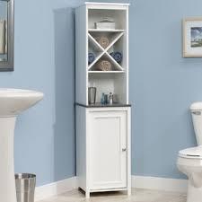Bathroom Storage Shelf Bathroom Cabinets U0026 Shelving You U0027ll Love Wayfair