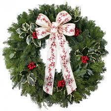 fresh christmas luxury wreaths fernhill holly farms