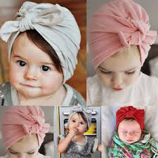 toddler hair accessories newborn baby toddler kids boy girl bowknot soft beanie hat cap
