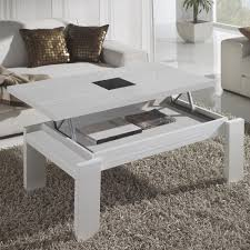 Table Basse Blanche Alinea by Table Basse Qui Se Releve Pour Manger U2013 Phaichi Com