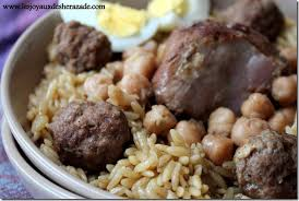 recette de cuisine algerienne tlitli recette algérienne les joyaux de sherazade