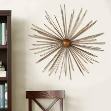 Wall Decors 36 In X 36 In Modern Starburst Metal Wall Decor Dn0012 The