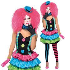 clown costumes for halloween girls teen cool clown kool klown neon halloween fancy dress