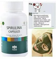 Jual Masker Wajah Untuk Kulit Berminyak jual nutrisi wajah masker spirulina masker wajah untuk kulit