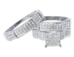 wedding trio sets diamond wedding rings sets the best and sensible buying tips for