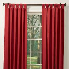 window curtains for winter homesfeed red blackout curtain with rod