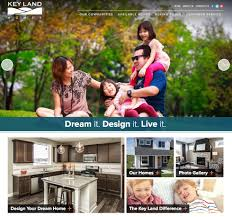 key land homes website home builder marketing meredith