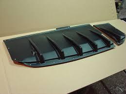 blobeye subaru wagon subaru 03 07 2 piece rear diffuser