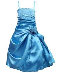 light blue dresses for kids light blue party wear gown for girls christmas discount offer