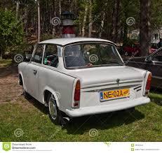 trabant vintage car trabant 501 parked editorial stock photo image 49539243
