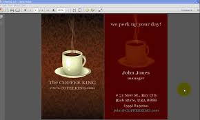 how to use our two sided at home business card templates
