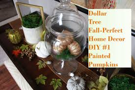 Home Decore Diy by Dollar Tree Fall Perfect Home Decor Diy 1 Painted Pumpkins Youtube