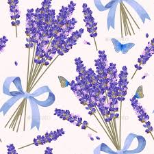 lavender flowers lavender flowers seamless pattern by greylilac graphicriver