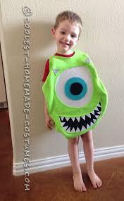 cutest mike wazowski costume for a boy mike wazowski costume