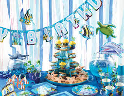 the sea party buy the sea party supplies online at build a birthday nz