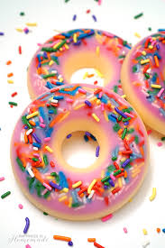 Diy Donut Scented Soap Happiness Is Homemade