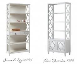 white open bookcase foter