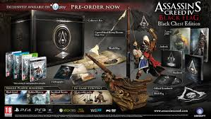 Blag Flag Assassin U0027s Creed 4 Black Flag The Black Chest Edition