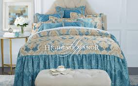 Gray And Turquoise Bedding Highgate Manor Fashion Bedding Hsn