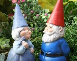 concrete gnomes garden gnome couple mr u0026 mrs gnomes