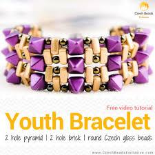 free beaded bracelet pattern images Czech glass beads tutorials patterns jpg