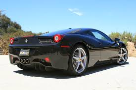 Ferrari 458 Coupe - ferrari italia 458 coupe iconic car rentals