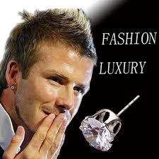 mens earring styles earrings on left ear beautify themselves with earrings