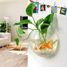 2017 pot wall home decoration transparent plants flower pot wall