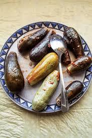 batenjen mehchi lebanese lamb stuffed eggplant recipe saveur
